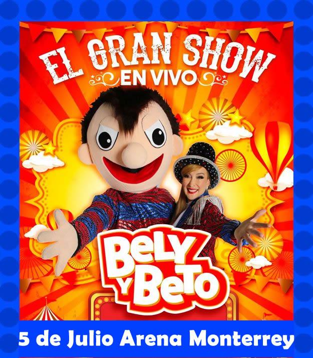 Bely Belinda: ¡Llegará Bely A La Arena Monterrey Con Su Gran Fiesta